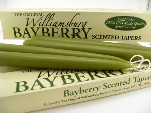Williamsburg Bayberry Candles