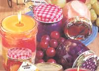 Fruit Jar Candles